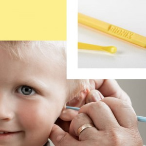 Safe Ear Curettes - Yellow CeraSpoon® 50 sztuk