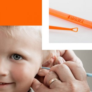 Safe Ear Curettes - Orange ControLoop® 50 sztuk