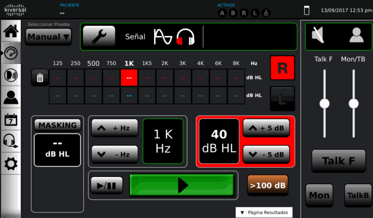 Auxi 10 cyfrowy audiometr