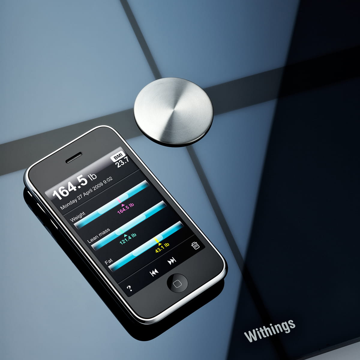 WITHINGS BODY MEHRERE IPHONES
